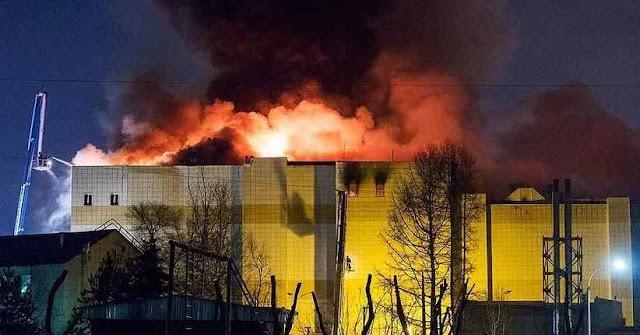 Investigators Call Mala Exit Gates in Russia Closed during Fire