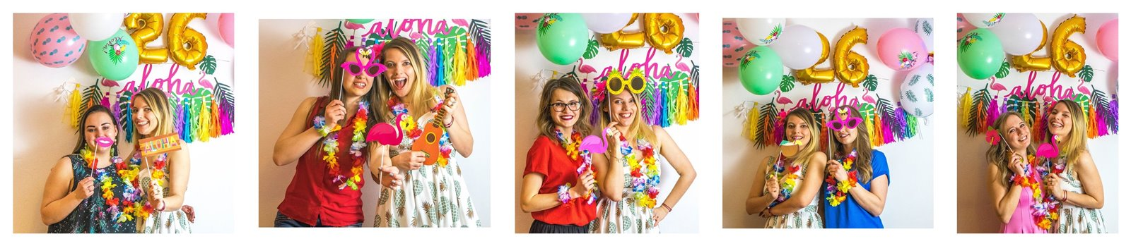 18a  jak zorganizować atrakcje na urodziny imprezy dla dorosłych fotobudka diy pomysły na urodziny co zrobić atrakcje jedzenie zdjęcia pamiątki dodatki styl hawajski tematyczne urodziny imprezy