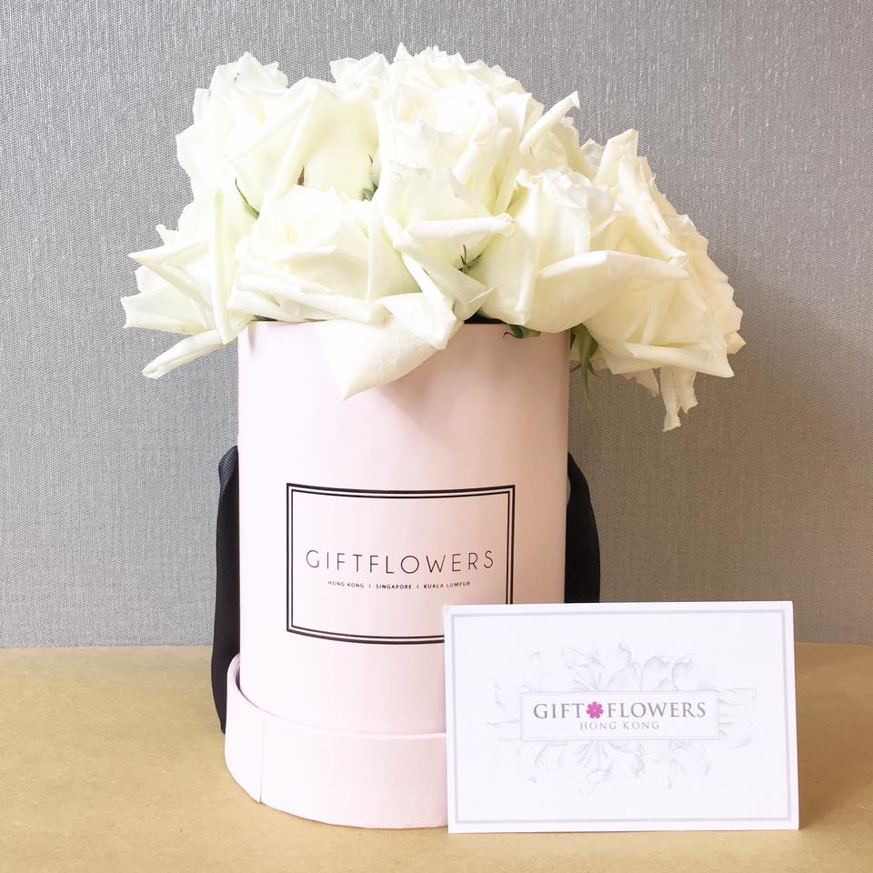 Review Of Gift Flowers Hong Kong: Roses In Round Flower Box