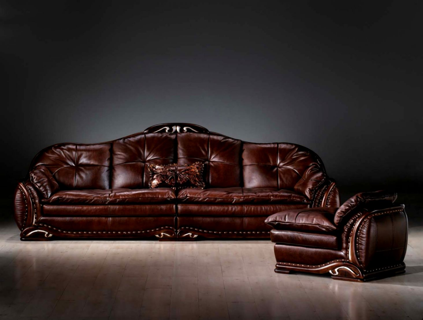 Leather Upholstery Sofa Style Hd Wallpaper Wallpapers Dope