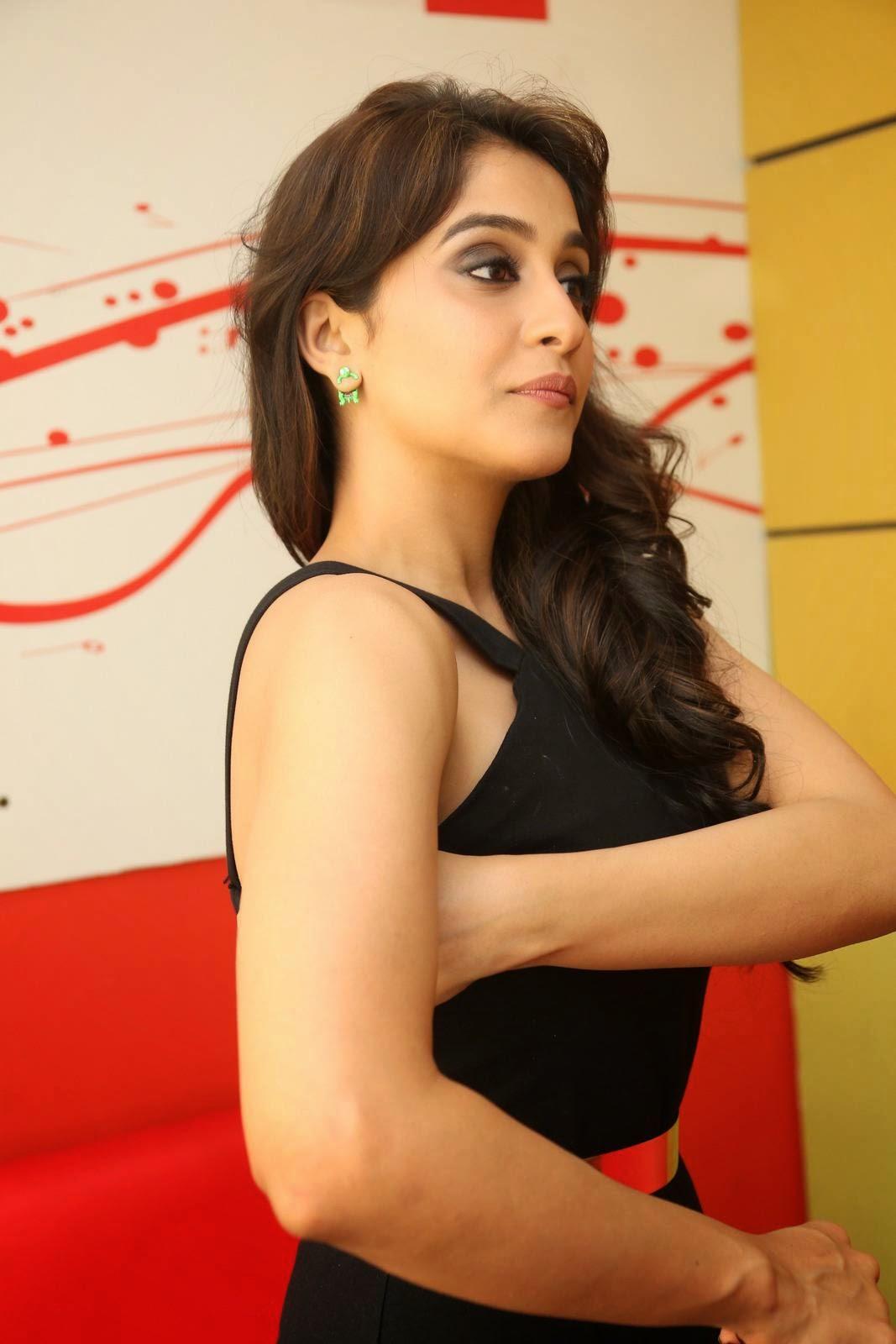 Regina Cassandra Latest Hot Photos In Black Dress