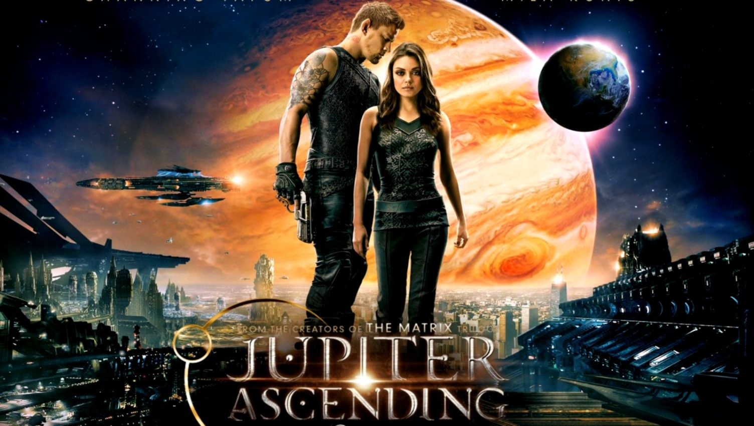 Jupiter Ascending Featurette Inside The Universe Gephardt Daily
