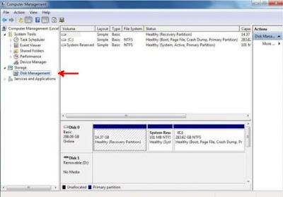 Cara Memperbaiki Flashdisk Yang Tidak Bisa Diformat dengan Computer Management