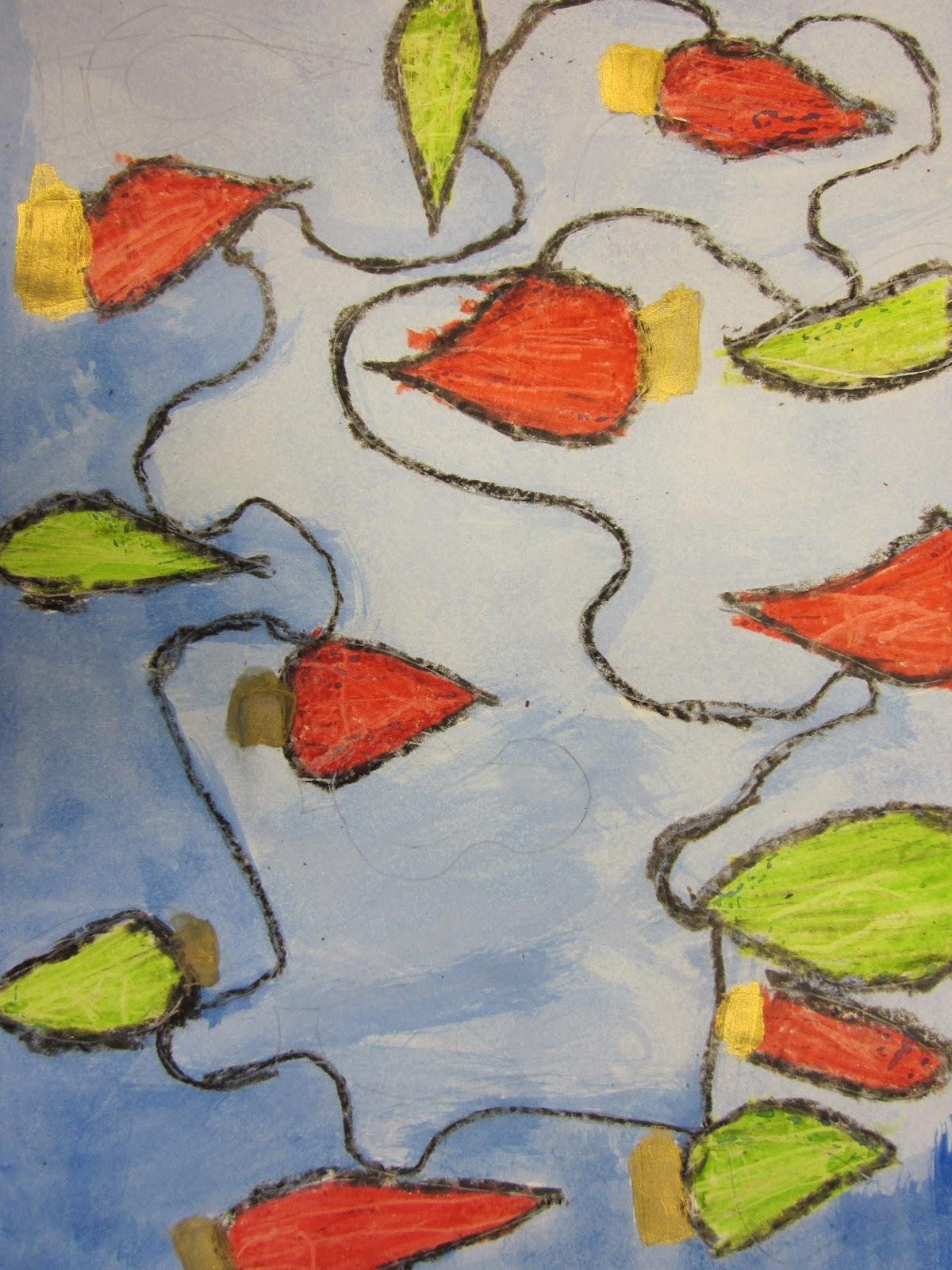 The Art Teacher S Closet In The Art Room Tangled Lights