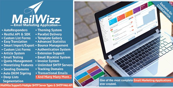 Free Download MailWizz Email Marketing Application PHP Script