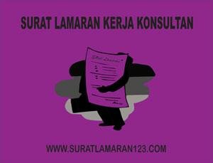 Contoh Surat Lamaran Kerja Konsultan yang Baik dan Benar