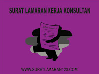 Contoh Surat Lamaran Kerja Konsultan