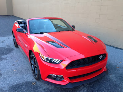 Ford Mustang GT convertible Hd image