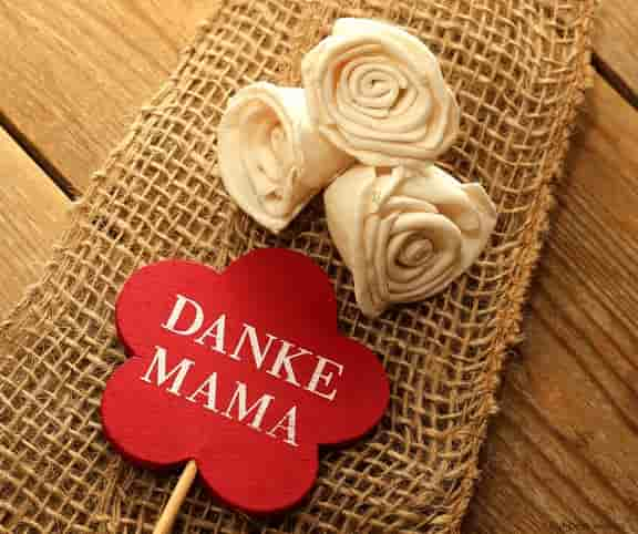 danke mama wishes