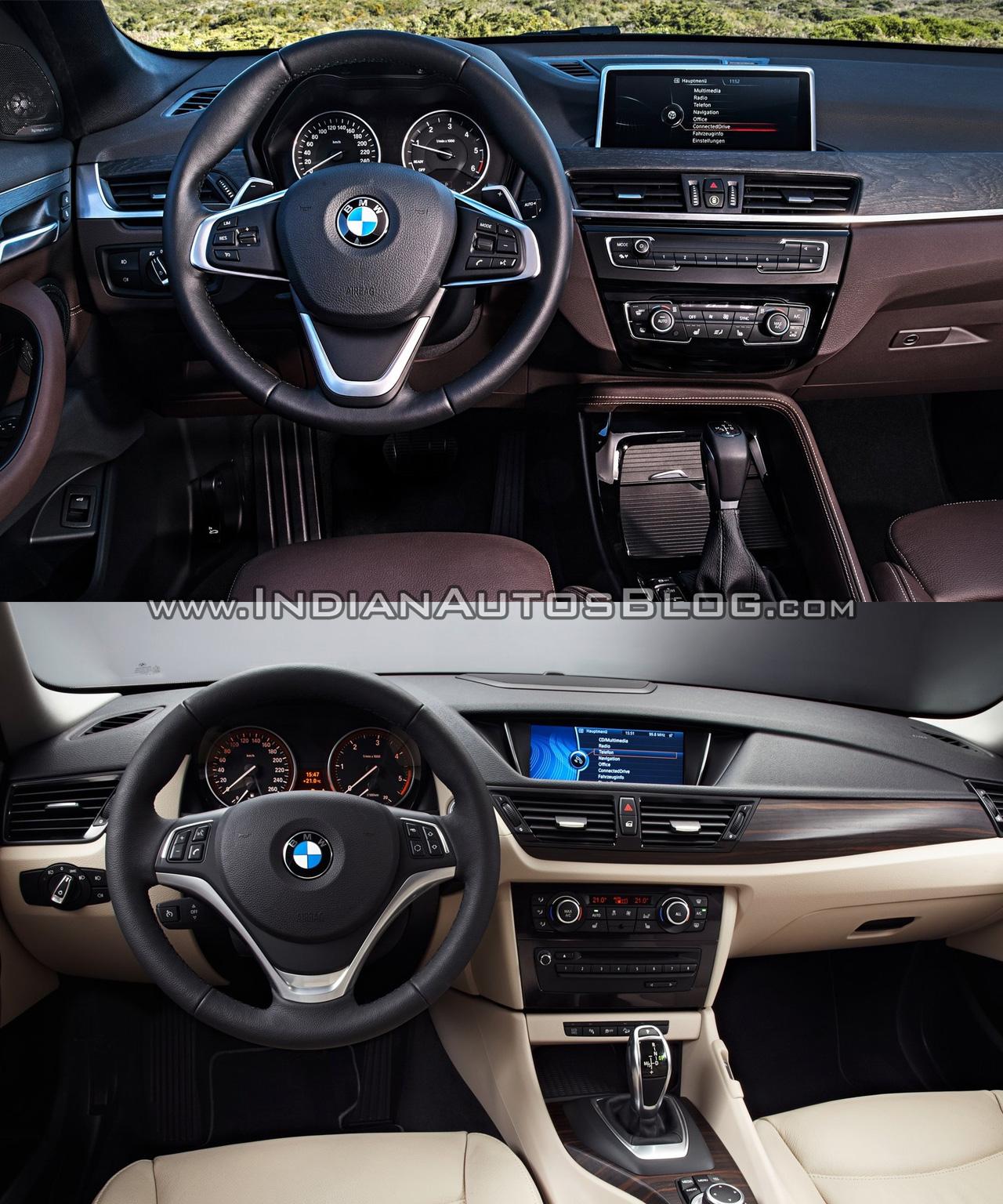 Interni Nuova BMW X1 2015/2016
