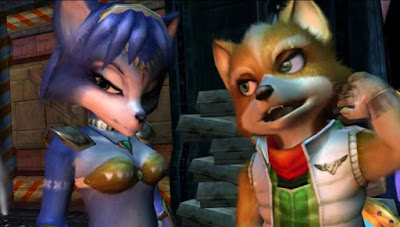 star fox krystal