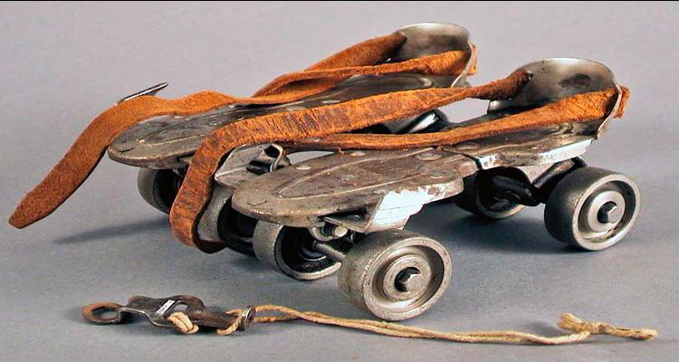 Patins Clássicos - A Origem do Skate