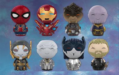 Avengers: Infinity War Dorbz Vinyl Figures by Funko x Marvel
