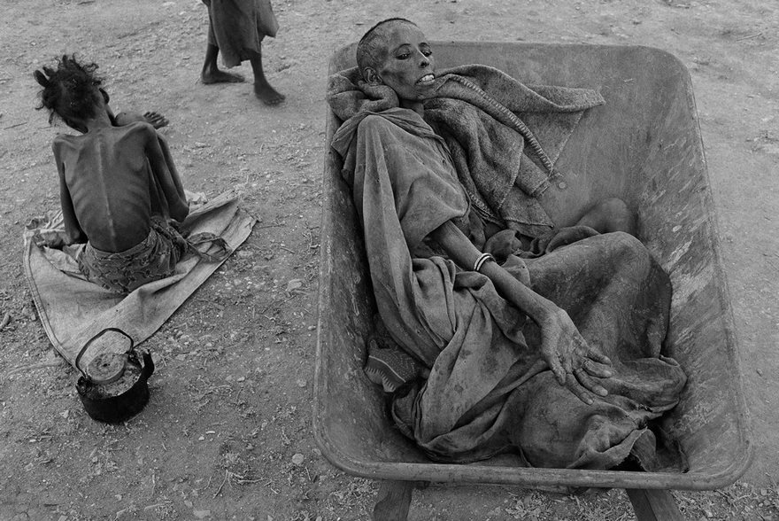#36 Famine In Somalia, James Nachtwey, 1992 - Top 100 Of The Most Influential Photos Of All Time