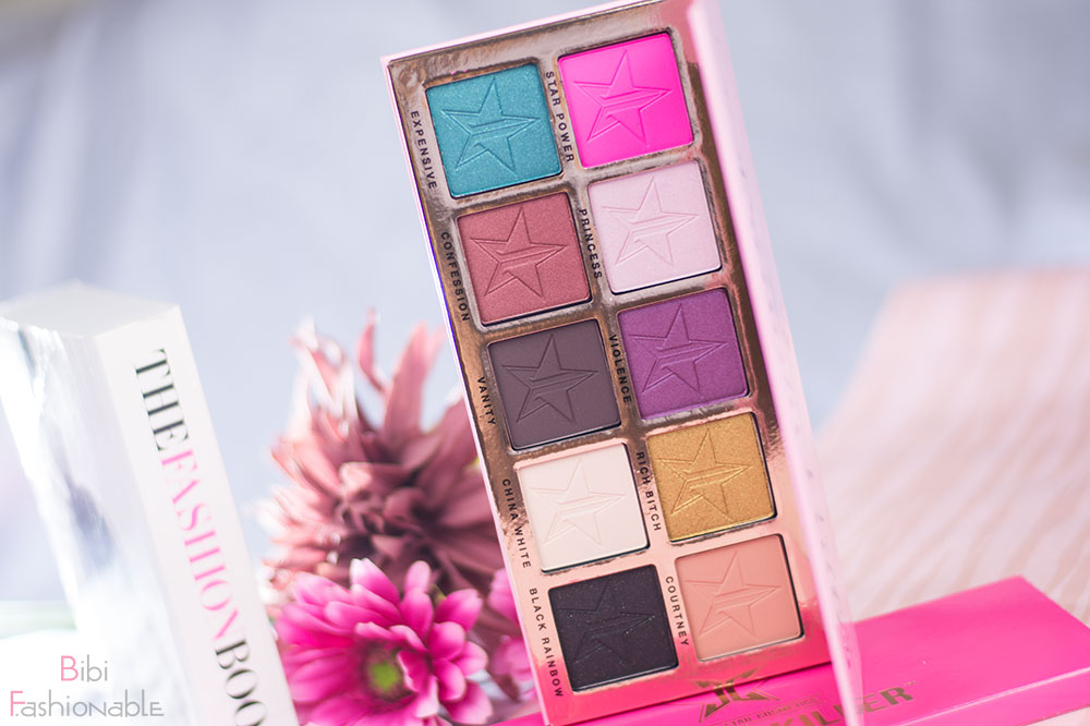 Jeffree Star Cosmetics Beauty Killer Palette offen