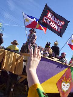 A Parade & Singing Shrimp