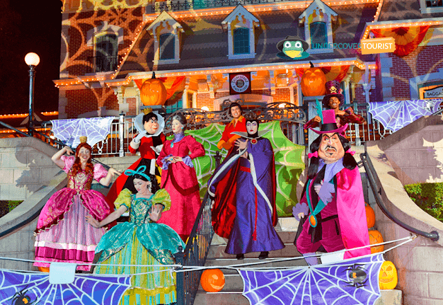 Fiesta de Halloween de Mickey en Disneylandia