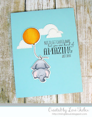You Are Pointing Kind of Amazing card-designed by Lori Tecler/Inking Aloud-stamps and dies from WPlus9