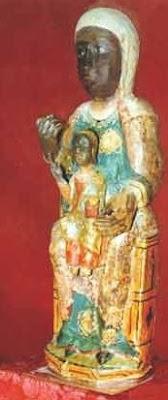Virgen de Guadalupe sin vestir