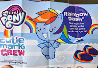 My Little Pony Series 4 Cutie Mark Crew Rainbow Dash