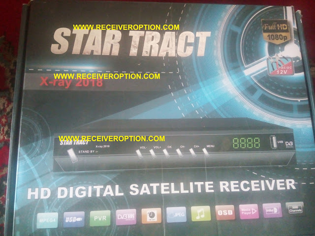STAR TRACT X-RAY 2018 HD RECEIVER POWERVU KEY SOFTWARE