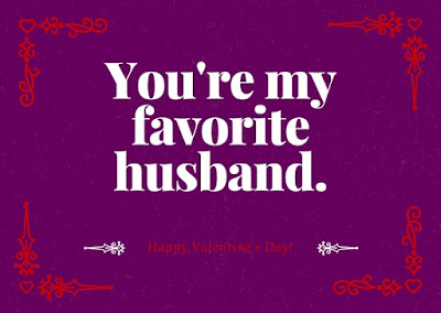 Favorite Husband card