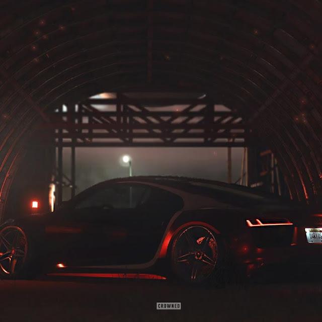 Crowned Audi R8 Wallpaper Engine