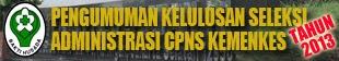 Cpns 2013 Kesehatan Lampung Lowongan Kerja Citilink Info Cpns 2016 Bumn 2016 Hasil Seleksi Administrasi Cpns Kementrian Share The Knownledge