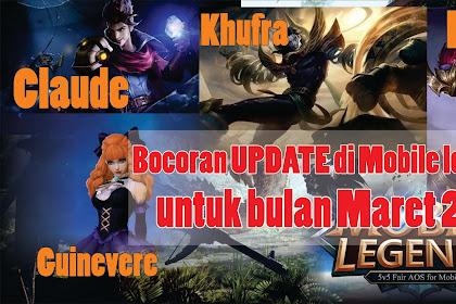 Bocoran Update..!! di Mobile legend Maret 2019 Ada Skin Epic Guinevere