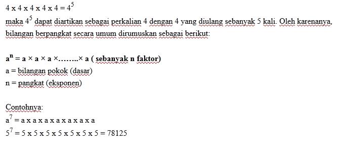 Matematika Materi Kelas Ix