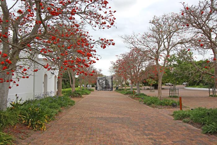 Kunst auf dem Spier Weingut in Stellenbosch