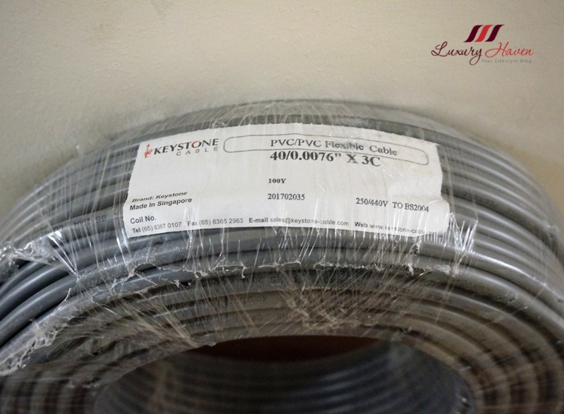 air connection design keystone cables for aircon installation