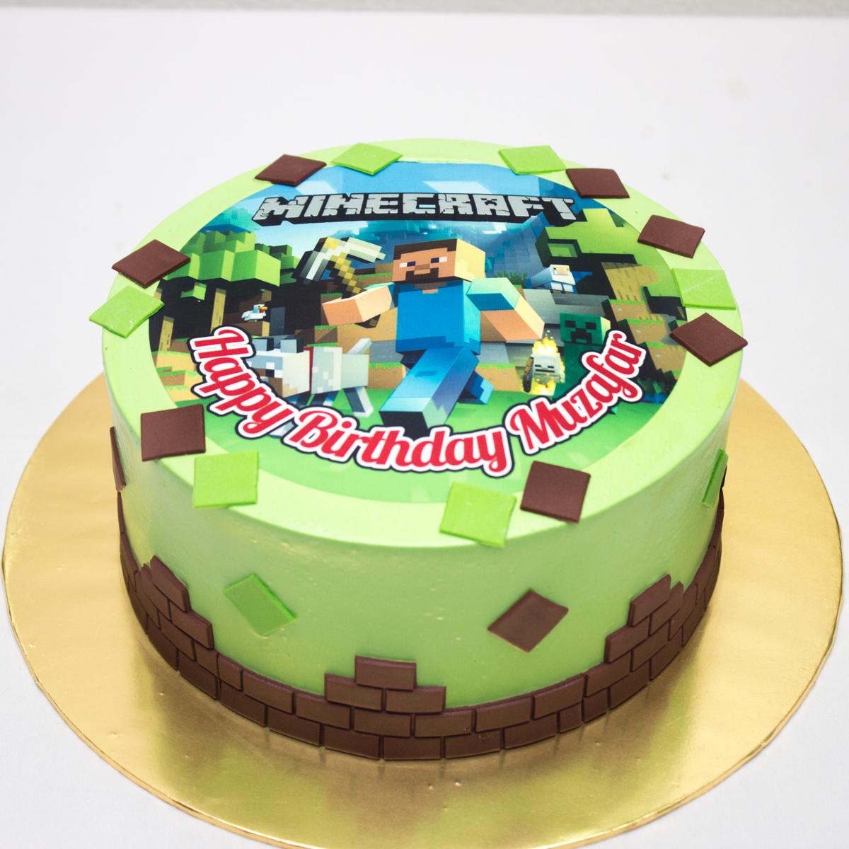 Edible Cake Images Minecraft : Lynn BabyCakes: August 2016