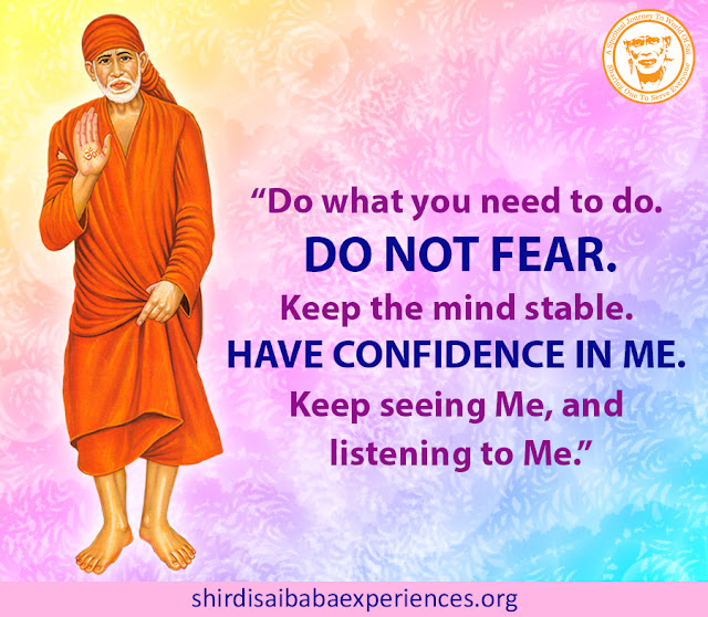 Shirdi Sai Baba Blessings - Experiences Part 2589