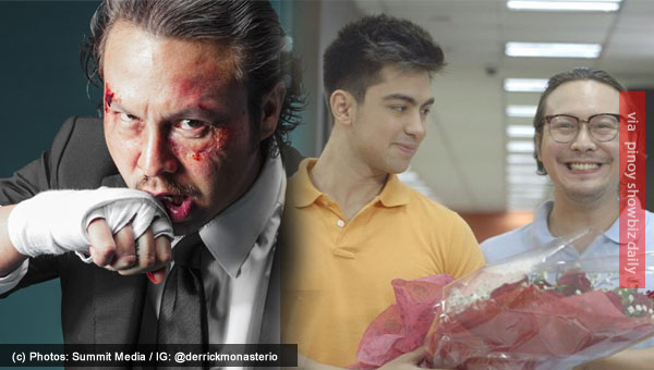 Baron Geisler plays gay role on TV with Derrick Monasterio as his lover