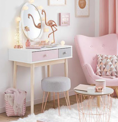 Modern makeup room designs ideas organization for homes 2019