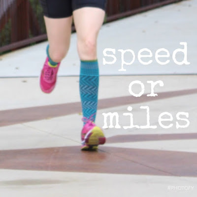 add speed or miles running training program