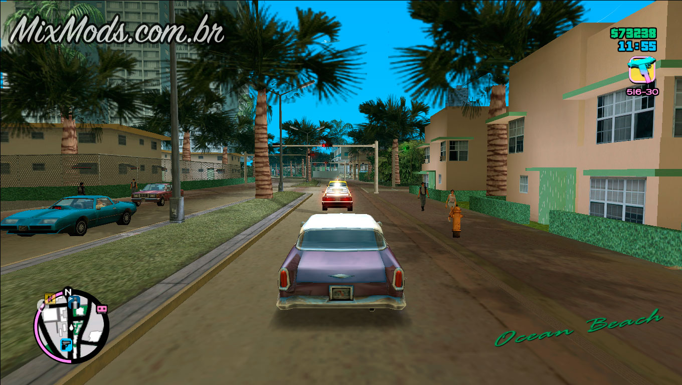 Mods do gta iv para vice city