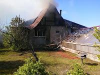 (ФОТО)Пожар в селе Светлое