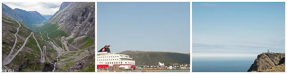 Excursiones del Hurtigruten, de crucero por el litoral noruego