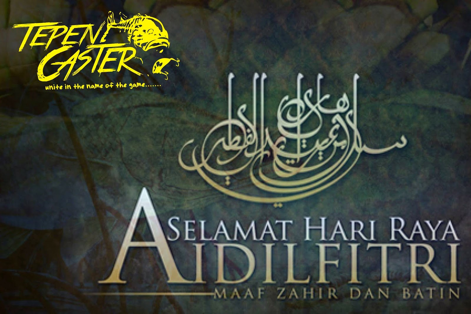 Salam Aidil Fitri Tepen Caster