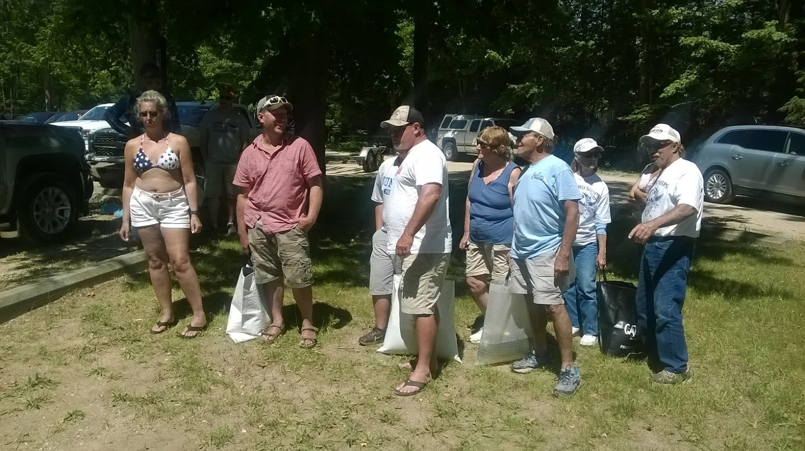 T c bass fishing club 10th annual firecracker special for Open bass fishing tournaments