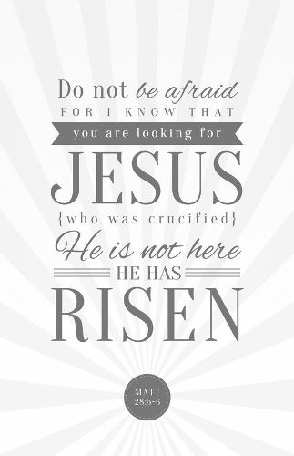 He Is Risen Quotes Bible