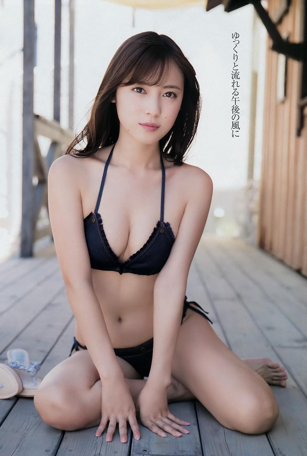 Sarii Ikegami 池上紗理依, Young Champion 2017 No.19 (ヤングチャンピオン 2017年19号)