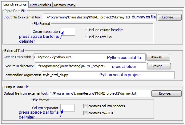 Running External Python Scripts from Knime | Scripting and