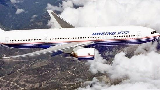 Selamat terbang lima jam di roda pesawat boeing 777