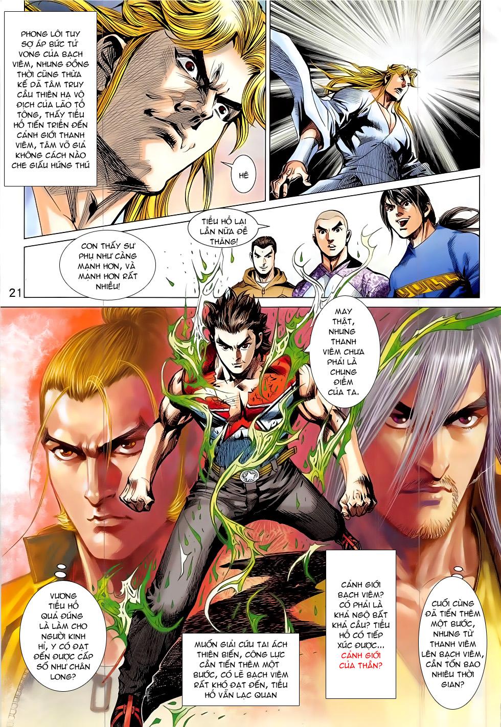 Đông Phương Chân Long chap 64 - Trang 21