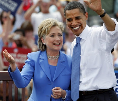 obama clinton most admired man woman world