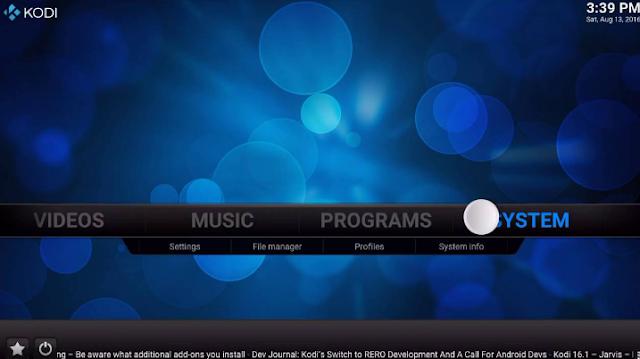 تحميل برنامج Kodi لتشغيل الفيديوهات والملفات الصوتية 2018 برابط مباشر