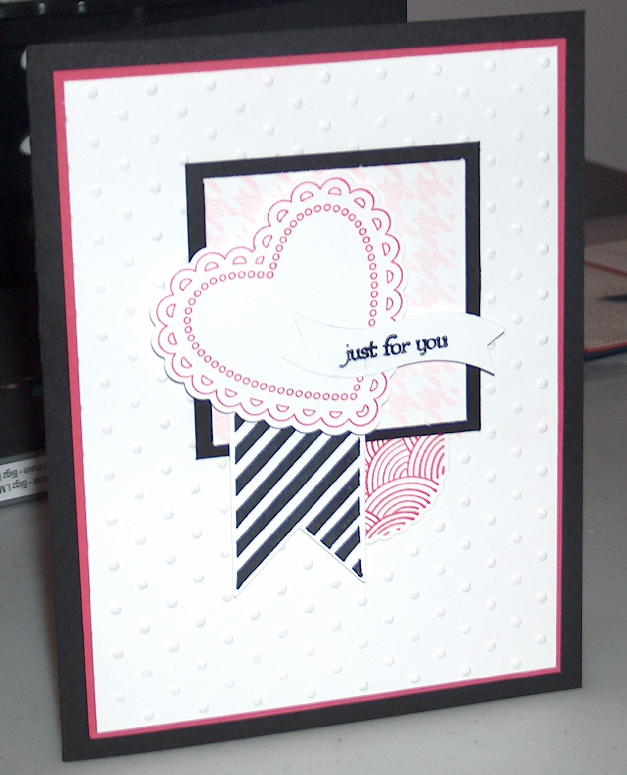 come stamp with me hearts a flutter cards